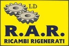 R.A.R. Ricambi Rigenerati Logo